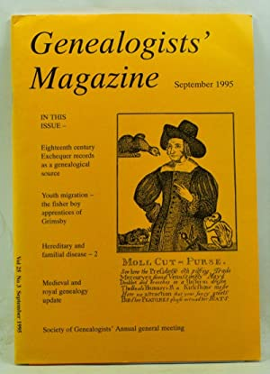 Genealogists' Magazine: Journal of the Society of: Leeson, F. L.