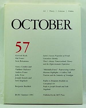 October 57: Art, Theory, Criticism, Politics (Summer: Copjec, Joan (Ed.);