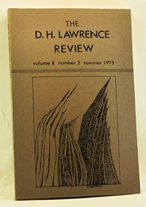 The D. H. Lawrence Review, Volume 8,: Cowan, James C.