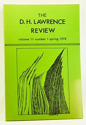 The D. H. Lawrence Review, Volume 11,: Cowan, James C.