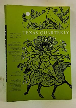 The Texas Quarterly, Volume 5, Number 1: Ransom, Harry H.