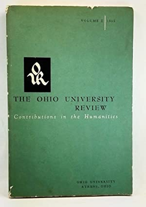 The Ohio University Review: Contributions in the Humanities, Volume I (1959)