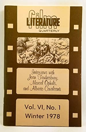 Film Literature Quarterly, Volume 6, Number 1: Erskine, Thomas L.
