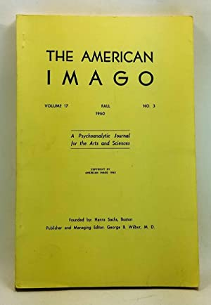 The American Imago, Volume 17, Number 3 (Fall 1960)