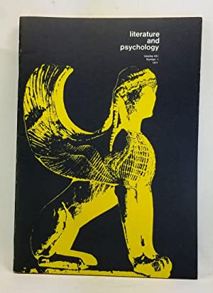 Literature and Psychology, Volume 21, Number 1 (1971)
