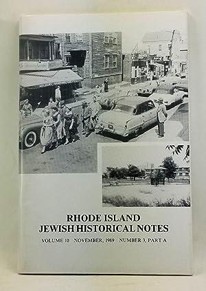 Rhode Island Jewish Historical Notes, Volume 10,: Cohen, Judith Weiss