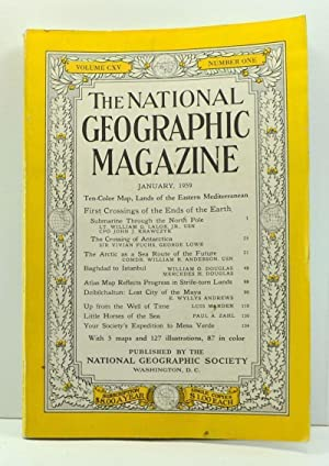 The National Geographic Magazine, Volume 115, Number 1 (January, 1959)