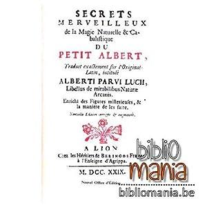 Secrets Merveilleux de la Magie Naturelle et: Albert Le Grand