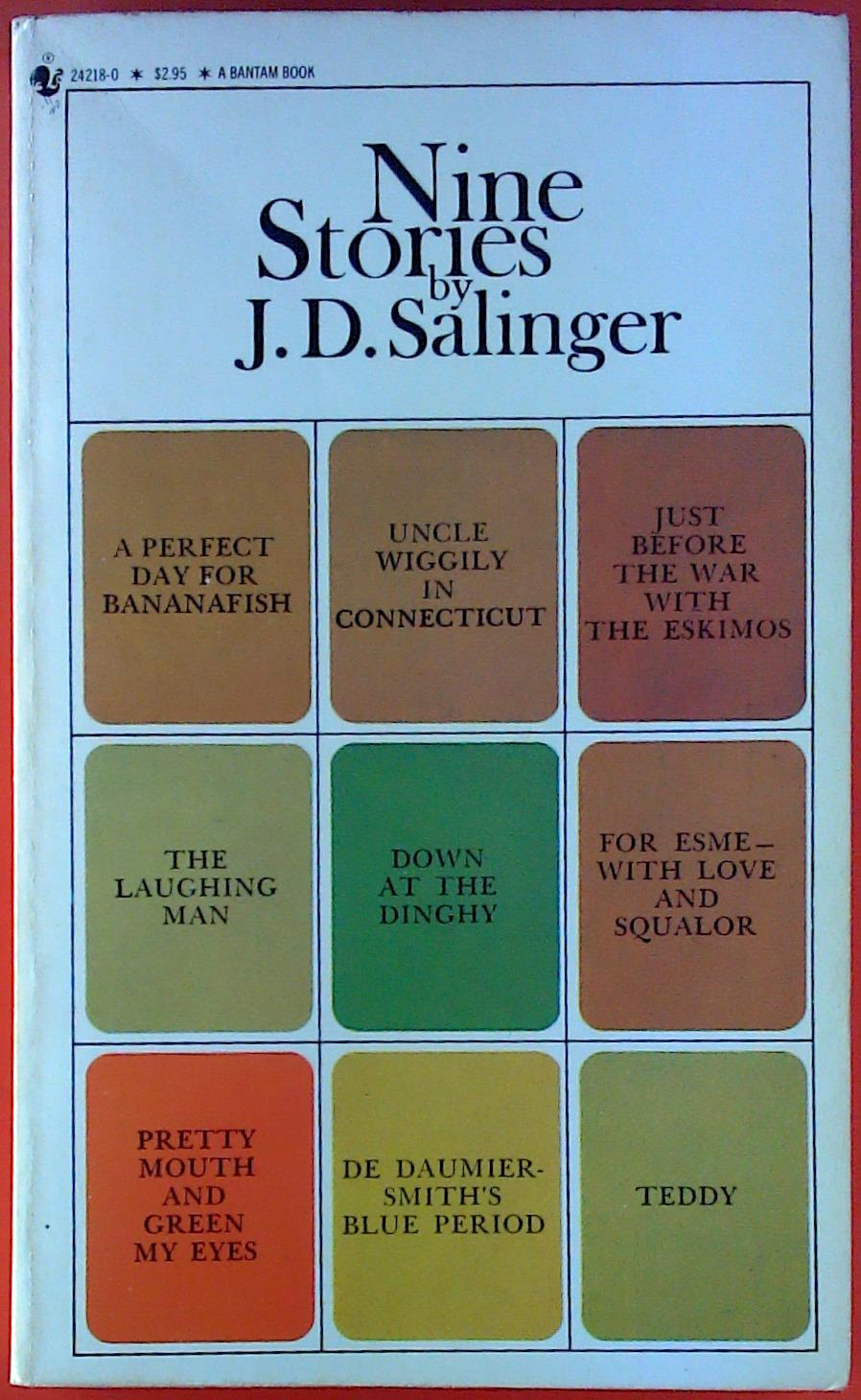 jd salinger a perfect day for bananafish