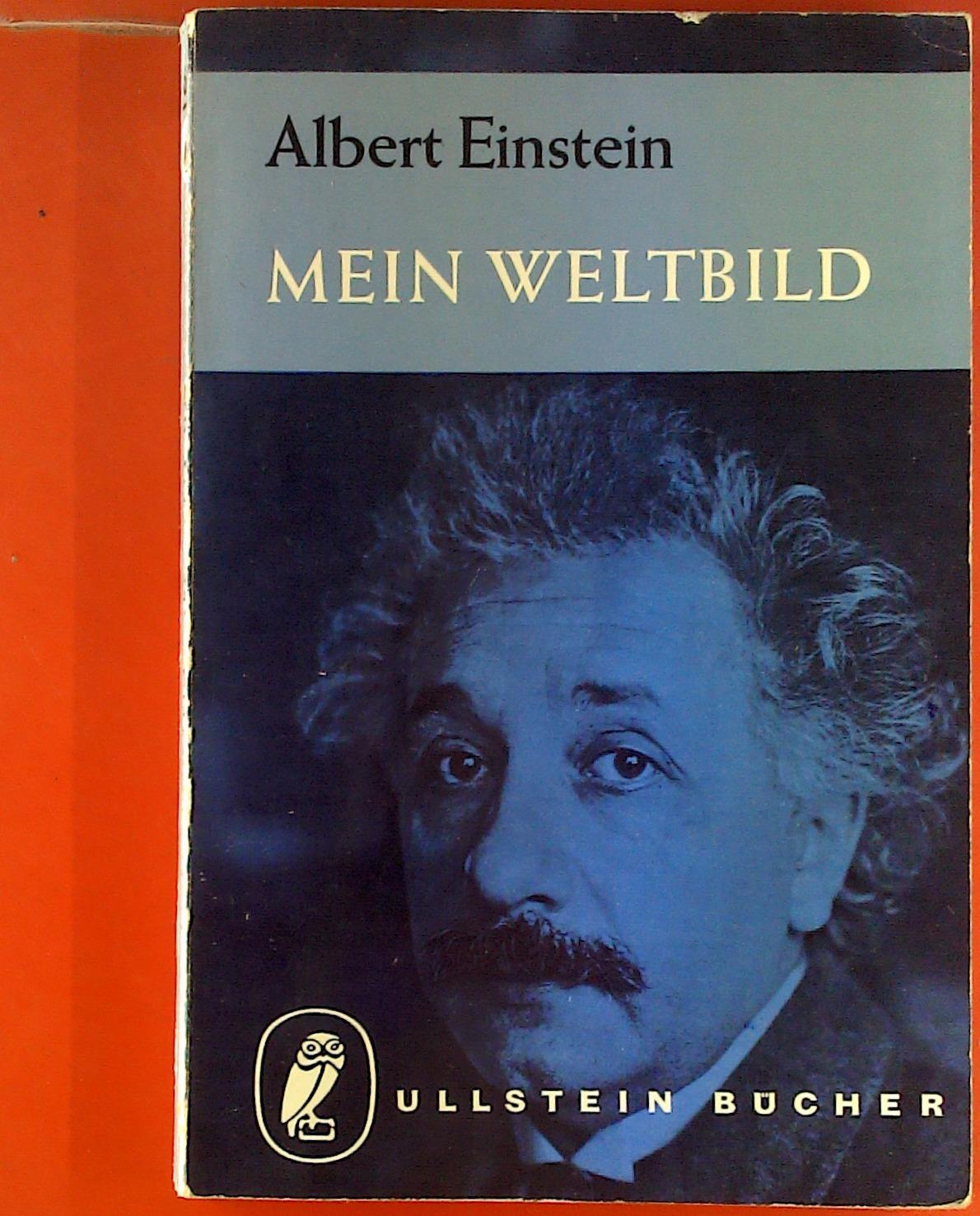 albert einstein mein weltbild zvab. Black Bedroom Furniture Sets. Home Design Ideas
