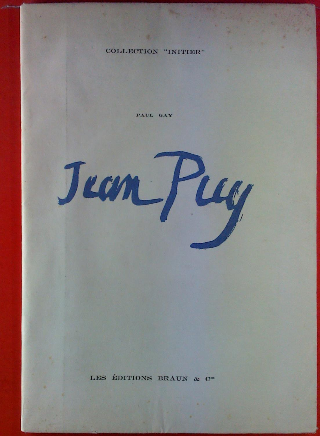 Jean Puy. Collection Initier.: Paul Gay