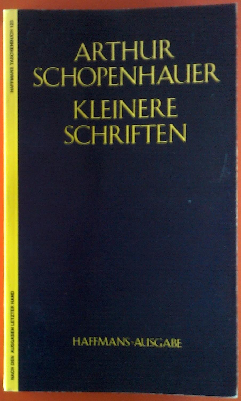 Arthur Schopenhauer`s Werke in fünf Bänden. Band: Arthur Schopenhauer