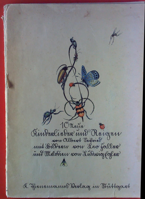 Zehn neue Kinderlieder und Reigen.: Albert Seifried