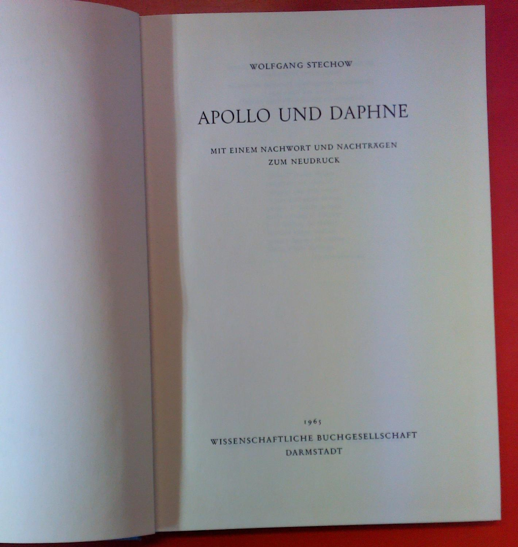 Apollo und Daphne: Wolfgang Stechow