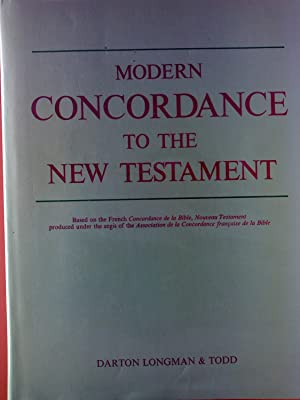Modern Concordance to the New Testament