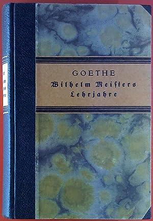 Goethe, Wilhelm Meisters Lehrjahre: Goethe