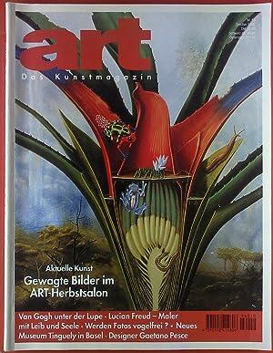 ART Das Kunstmagazin. HEFT 10 - Oktober: Axel Hecht (Chefredakteur)