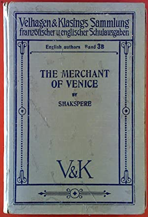 Shakespere`s Merchant of Venice. A Comedy. English: F. Ost