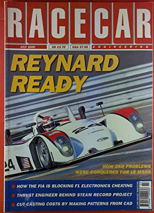 Racecar Engineering. July 2000. Reynard Ready.: Quentin Spurring
