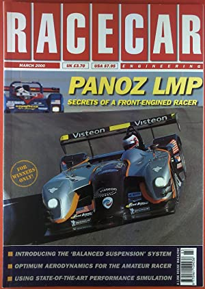 Racecar Engineering. March 2000. Panoz LMP. Secrets: Quentin Spurring
