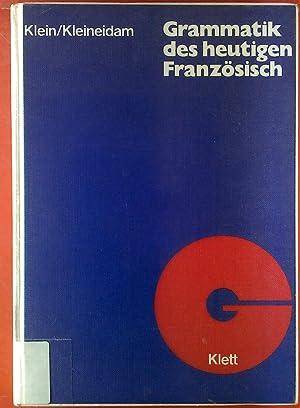 Grammatik des heutigen: Hans-Wilhelm Klein, Hartmut