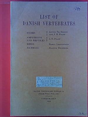 List of Danish Vertebrates.: Bianco Luno
