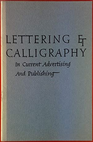 Lettering Et Calligraphy. In Current Advertising and: George Salzer, Paul