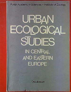 Urban Ecological Studies. Proceedings of the International: Maciej Luniak