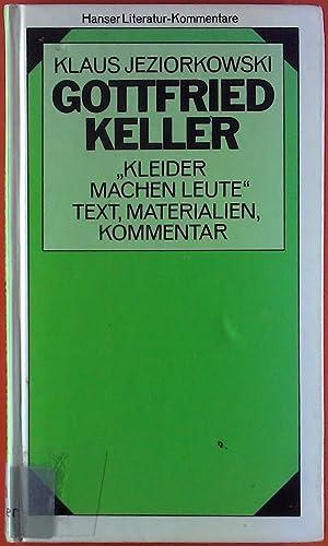 9783446141469 Gottfried Keller Kleider Machen Leute Texte
