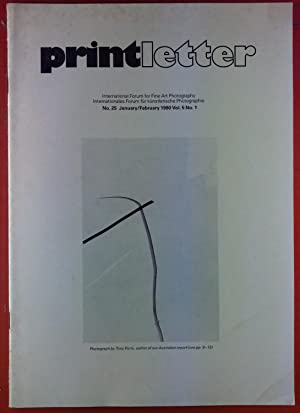 Printletter, No. 25 - January/February 1980, Vol.