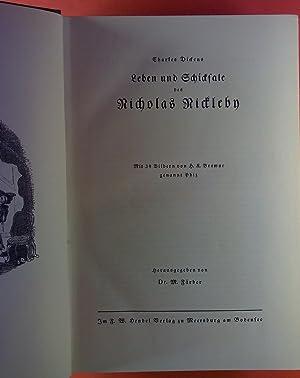 Leben und Schicksale des Nickolas Nickleby.