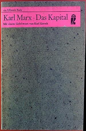 Das Kapital Von Karl Marx Verlag Ullstein Biblion2