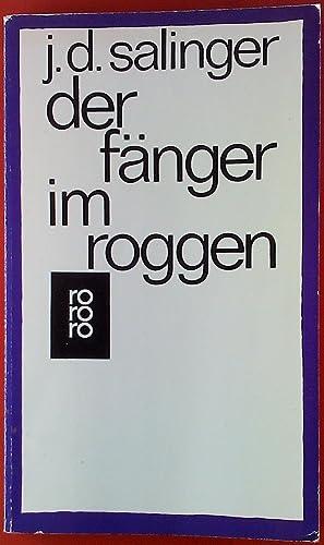 Der Fänger im Roggen.: J. D. Salinger