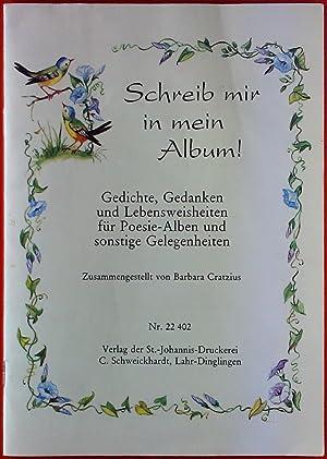 Album Gedichte Zvab