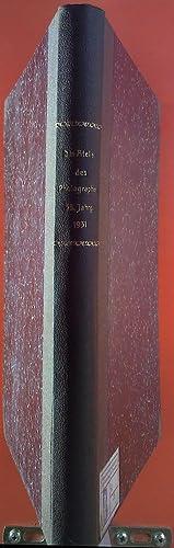 Das Atelier des Fotografen 38. Jahrgang 1931: Prof. O. Mente