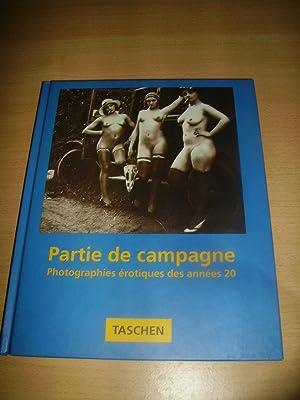 PARTIE DE CAMPAGNE:PHOTOGRAPHIES EROTIQUES DES ANNEES 20: HONSCHEIDT Walter/SCHEID Uwe: