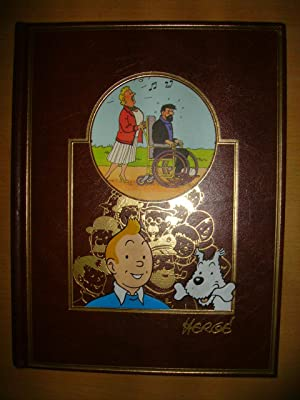 L'OEUVRE INTEGRALE TOME 10,EDITIONS ROMBALDI:Tintin au Tibet: HERGE(Georges REMI):