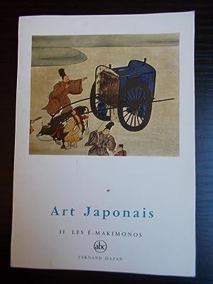ART JAPONAIS TOME 2:LES E-MAKIMONOS: LEMIERE Alain/HAZAN Fernand(Editeur):