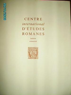 CENTRE INTERNATIONAL D'ETUDES ROMANES 1971-I:LE THEME DU: COLLECTIF/CROZET René/FOURNEE Jean,Dr