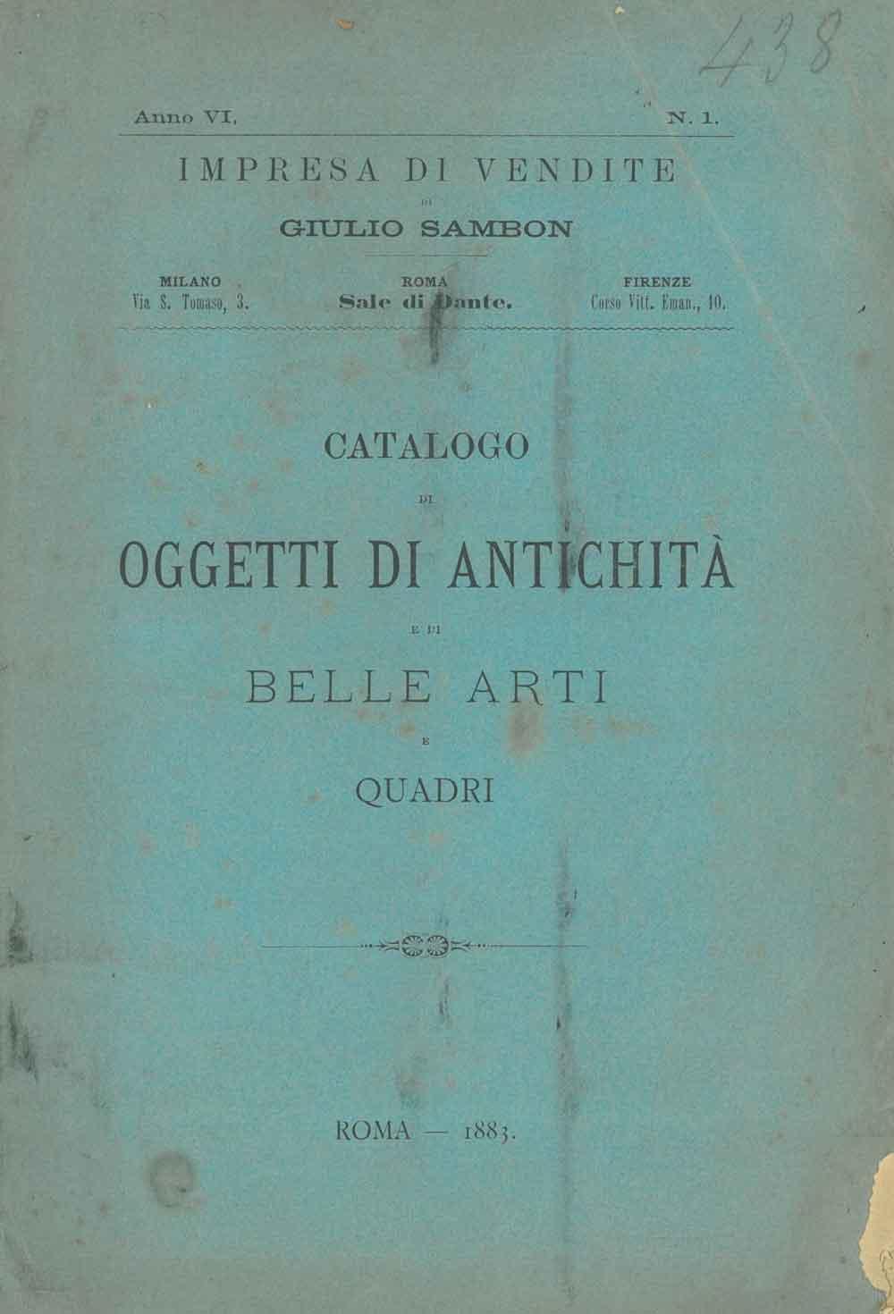 Quadri Moderni Roma Vendita catalogo della vasta raccolta di antichità