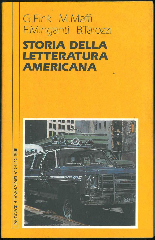 Storia della letteratura americana: Finck Guido, Maffi