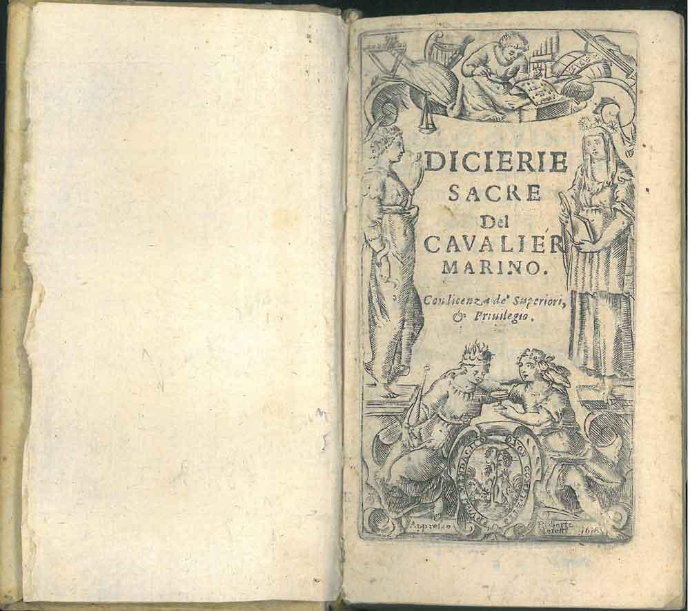 68820472023e7 Dicierie sacre del cavalier Marino: Marino, Giambattista