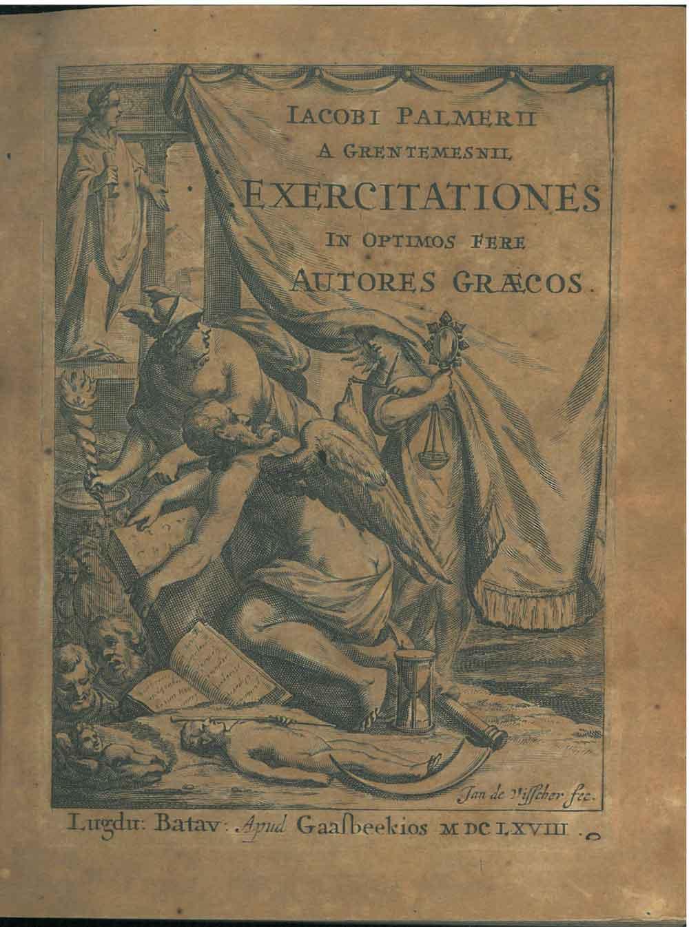 Jacobi Palmerii a Grentemesnii, Exercitationes in optimos: Le Paulmier de