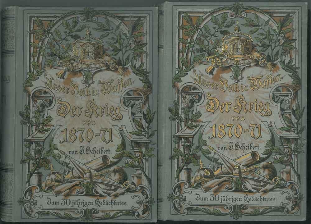 Der deutsch-franzosische Krieg 1870 - 71: Scheibert