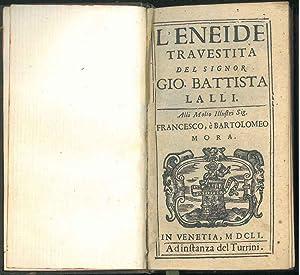 L' Eneide travestita del signor Gio. Battista: Lalli, Giovanni Battista