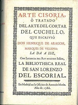 Arte cisoria ò tratado del arte del: De Aragon Henrique
