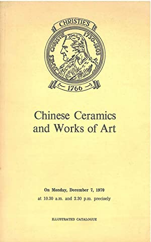Catalogue of Archaic Chinese Bronzes, Early Pottery, Export Porcelain and Works of Art