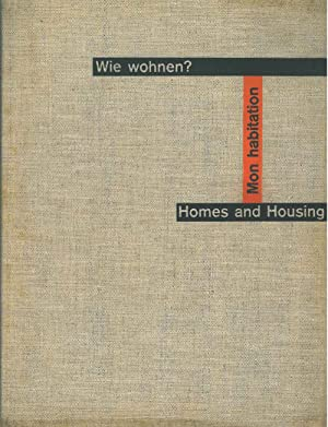 Wie wohnen? Homes and Housing. Mon habitation