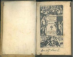 Ioannis Owen oxoniensis angli Epigrammatum editio postrema: Owen, John