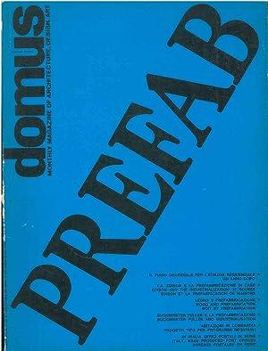 Domus: Prefab, numero speciale sulla prefabbricazione in